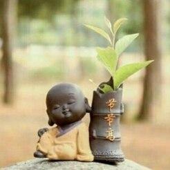 41463ae9-f89a-4e54-9fcf-0c5abc6c500b.jpg Download OBJ file buddha flowerpot prosperity • 3D print object, CRSTUDIO8305