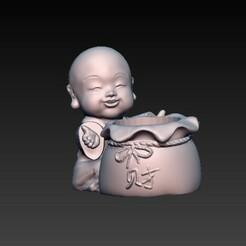 f1.jpg Télécharger fichier OBJ bébé bouddha 8 • Plan à imprimer en 3D, CRSTUDIO8305