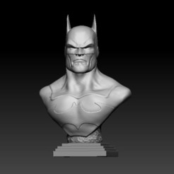 F1.jpg Télécharger fichier STL gratuit BUST BATMAN • Modèle pour imprimante 3D, CRSTUDIO8305