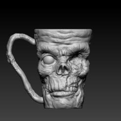 f1.jpg Download OBJ file monster mug • 3D printing object, CRSTUDIO8305