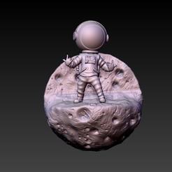 f1.jpg Télécharger fichier STL astronaute 2020 • Plan imprimable en 3D, CRSTUDIO8305