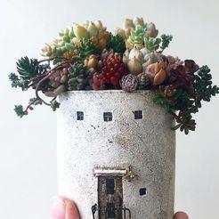 Download 3D model tower house pot, sistem8305