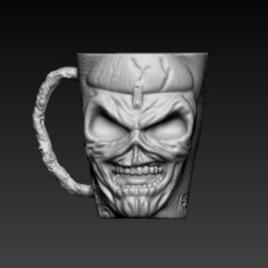 f1.jpg Download OBJ file mug eddy iron maiden • Design to 3D print, CRSTUDIO8305