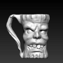 f1.jpg Download OBJ file mug monster • 3D printing object, CRSTUDIO8305