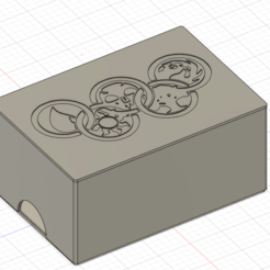 MTG box.PNG Download free STL file MTG Mana Box • Template to 3D print, Dagoma