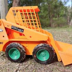 Download free STL files RC BOBCAT SKID STEER ULTRA RC, ULTRARC