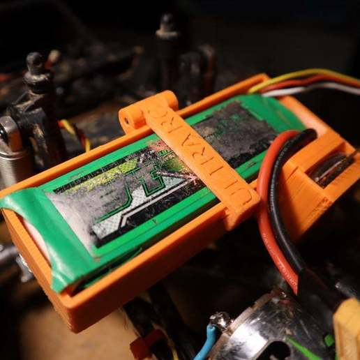 Download free 3D model SCX10 battery box with buzzer!!!, ULTRARC