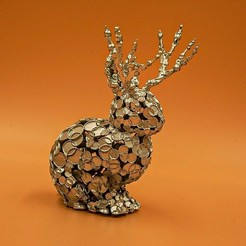 Download free 3D printer files Jackalope Dots, Alphateam