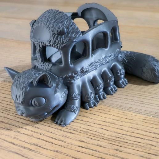 Download free 3D print files Catbus(My Neighbor Totoro), Alphateam