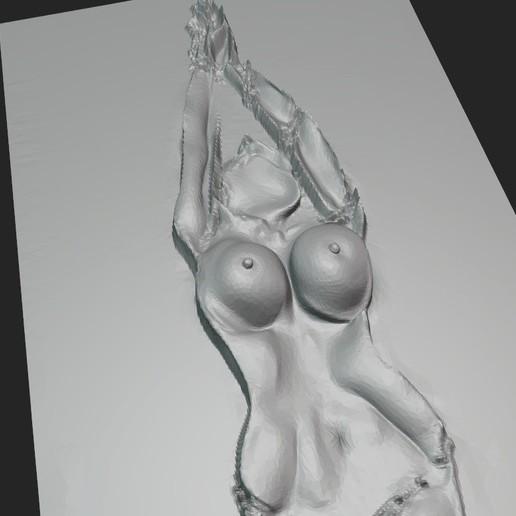 Download STL file ART BDSM 3D EFFECT 3D ASS GIRL TIT ANIME 16 3D PENDANT IMAGES DE FUTURES, NAKED GIRL BDSM ADULT SEX XXX • 3D printing model, DiaSky