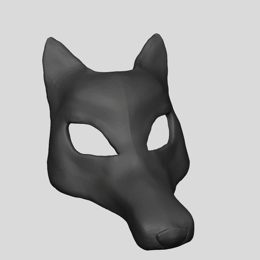 Download STL file MASK FOR ROLE-PLAYING GAMES • 3D print object, DiaSky