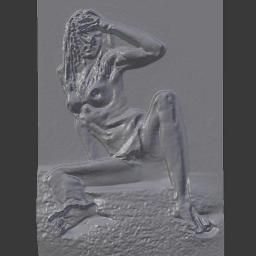 Télécharger modèle 3D ART Femme nue 2, DiaSky