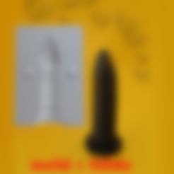 Descargar archivos STL MOLDE DILDO PLUG VAGINA MASAJEADOR / MASTURBADOR MASCULINO VIRGEN 1 BDSM SEXO ADULTO XXX, DiaSky