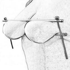 Download 3D printer files breast clip for Women bdsm Adult Sex XXX, DiaSky