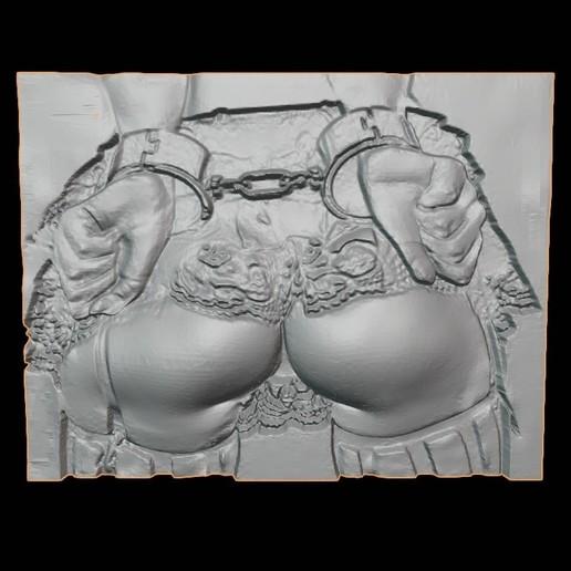 Download STL file ART BDSM 3D EFFECT 3D ass girl TIT ANIME 14 3D PENDANT IMAGES OF BUTTOCKS, NAKED GIRL BDSM ADULT SEX XXX • 3D printer model, DiaSky