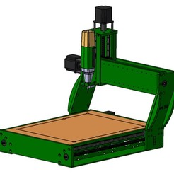 Download free 3D model Home-made CNC milling machine, 2.0 GFK, dreagon29