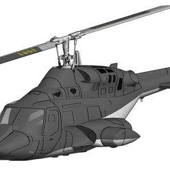 Descargar STL Airwolf impreso en 3D, Mechanik TRex 450 DFC RC, dreagon29