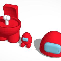 Screenshot_2020-12-06 crewmate Tinkercad.png Télécharger fichier STL coéquipier - parmi nous 3d • Objet à imprimer en 3D, mateocortinakatz