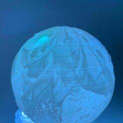6670de05-d146-4173-8998-de8c3019dda6.jpg Télécharger fichier STL YODA MANDALORIAN STAR WARS DISNEY NIGHT LIGHT LITHOPHANE • Design pour impression 3D, vadi3d