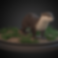 otter.stl Download free STL file European Otter • Design to 3D print, Rascof