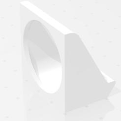 Download free 3D printer templates Fan de capa simple - 30mm, nat3D