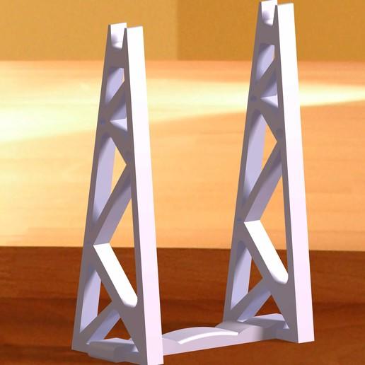 Download 3D printer model Spoolholder - Filament roll support, nat3D