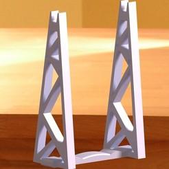 spoolHOLDER.jpg Télécharger fichier STL gratuit Support de bobine - Support de rouleau de filament • Objet imprimable en 3D, nat3D