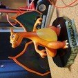 Download free 3D print files Charizard Statue with Stand, nat3D