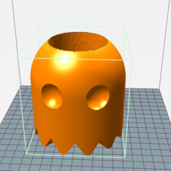 PacMan1.png Download STL file Mate Ghost Pac-Man • 3D printing object, tavofigueredo