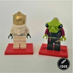 35.jpg Download free STL file Lego Minifigure Stand • 3D print model, Alex_Torres