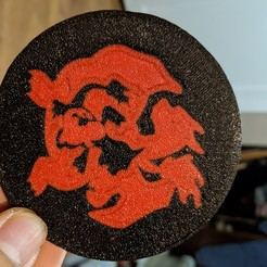 1.jpg Download free STL file Charizard Evolution Coaster • 3D print template, tamtrieu20