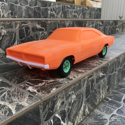 IMG_1589.JPG Download STL file 1:12 RC Muscle Car Dodge Charger • 3D printable template, StereoRasta