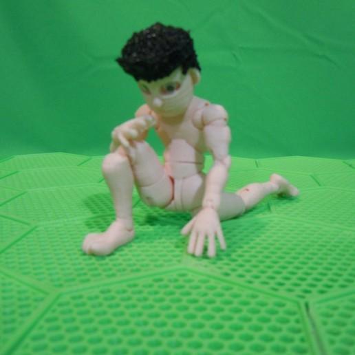 stretch-leg.jpg Download STL file BENDABLES . . .    ( male ) • 3D printing model, charles_beran