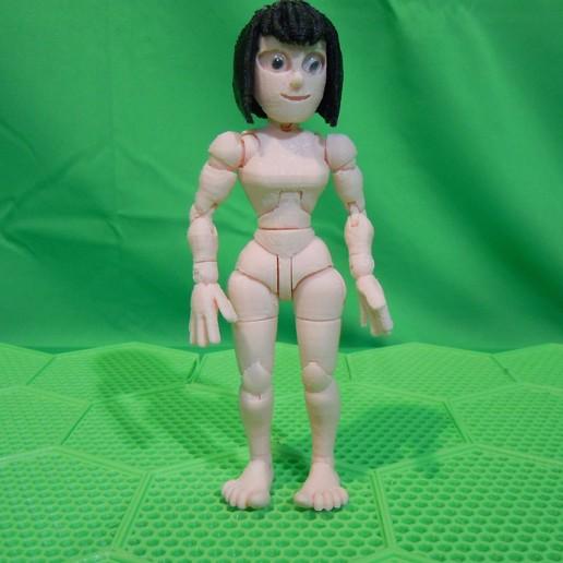 DSCN0741.JPG Download STL file BENDABLES . . .  ( female ) • 3D printer model, charles_beran