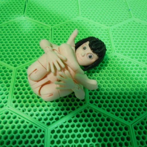 DSCN0744.JPG Download STL file BENDABLES . . .  ( female ) • 3D printer model, charles_beran