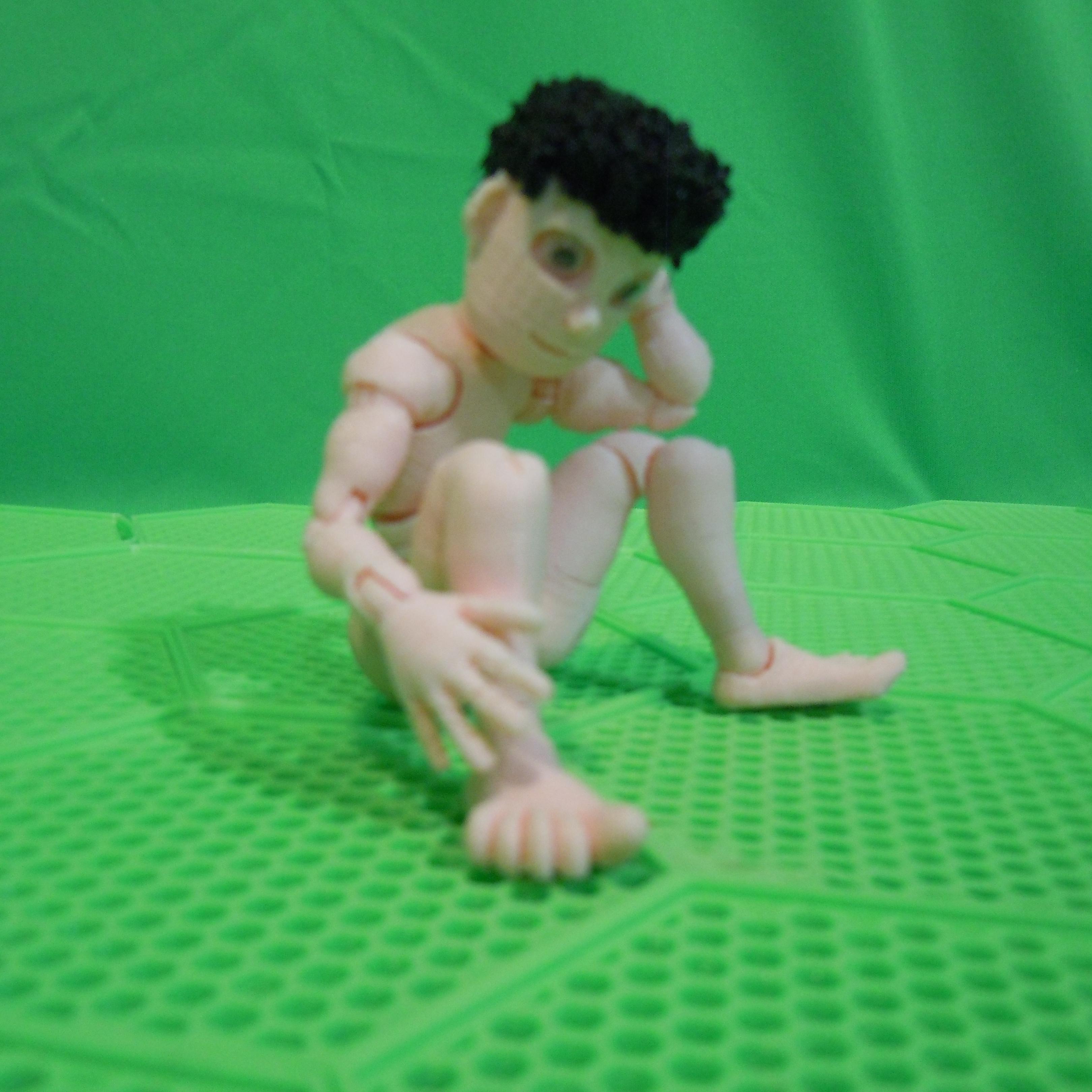 squat.jpg Download STL file BENDABLES . . .    ( male ) • 3D printing model, charles_beran