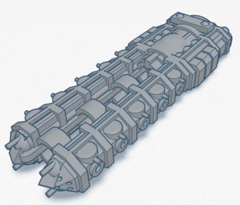 Spaceship.png Télécharger fichier STL gratuit Pièces de jeu de vaisseau spatial • Design pour impression 3D, Onyxia
