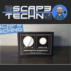V32.jpg Download free STL file E.S.R.O.M. device. • 3D printing model, EscapeTechno