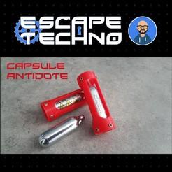 V04.jpg Download free STL file Antidote Capsule - Escape Game • 3D print design, EscapeTechno