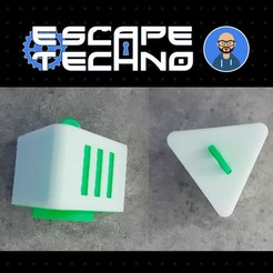 V09.jpg Download free STL file Medical Maquina Badges - Escape Game • 3D printer model, EscapeTechno