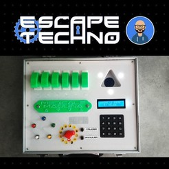 V07.jpg Download free STL file Medical Maquina - Escape Game • 3D printing design, EscapeTechno