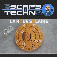 V27.jpg Download free STL file Sun wheel • 3D print object, EscapeTechno