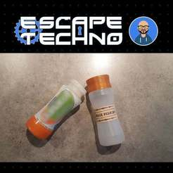 Télécharger fichier impression 3D gratuit Fiole de Sorcier - Escape Game, EscapeTechno
