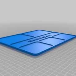 RC_Parts_Tray_-_Text_and_Magnets.png Download free STL file RC Parts Tray Organiser • 3D printer model, electrosync