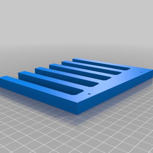 Tablet_Holder_Side_1.png Download free STL file Tablet Holder for Multiple Devices • 3D printer object, electrosync