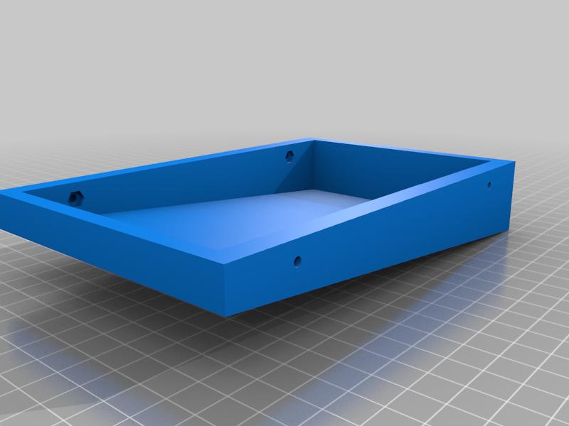 Tablet_Holder_Bottom.png Download free STL file Tablet Holder for Multiple Devices • 3D printer object, electrosync