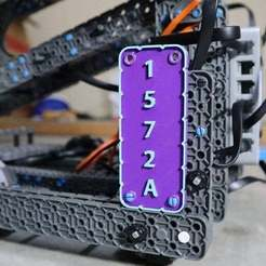 IMG_48811.jpg Télécharger fichier STL gratuit Plaque d'immatriculation VEX Robotics IQ • Design à imprimer en 3D, electrosync