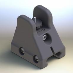 Render1.JPG Download STL file AR15 Front Sight • 3D print design, overkill777