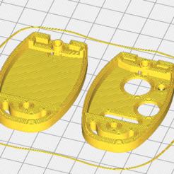 key print.PNG Télécharger fichier STL Logement Honda Key Fob • Design pour imprimante 3D, overkill777
