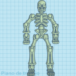 Download free STL skeleton, brayanrosas94